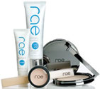 Rae is a mineral-based cosmetics line designed specifically for women with active lifestyles.